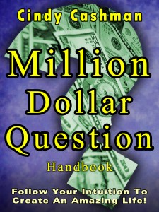 Cindy Cashman Million Dollar Question Handbook cover